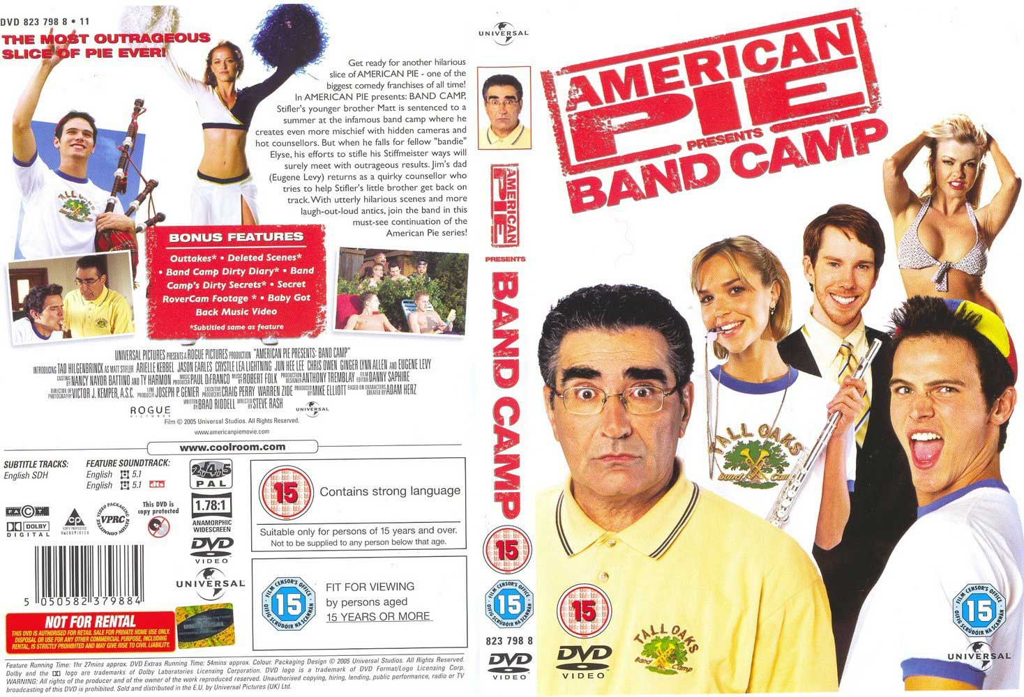 American Pie Band Camp-cover